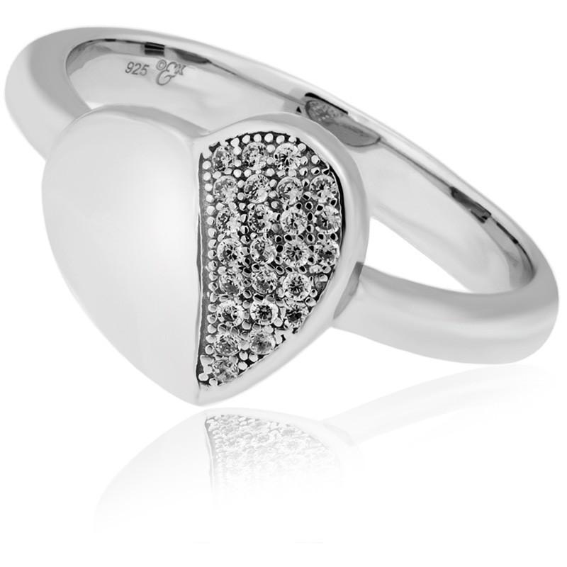 Tiamo Ring, 925/- rhodiniert