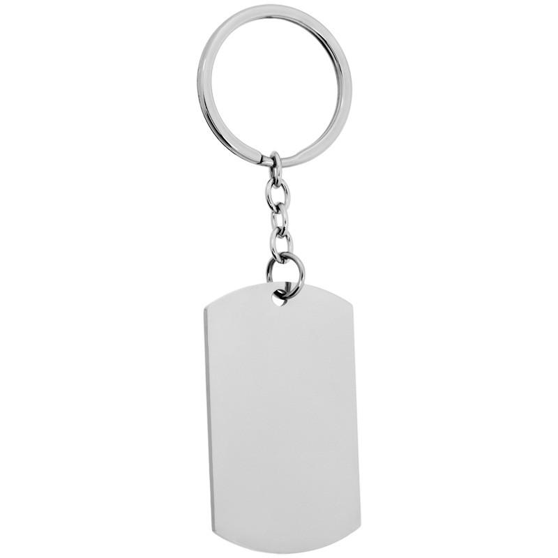 Schlüsselanhänger Edelstahl auf Wunsch mit Gravur