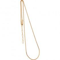 Collierkette Venezianer 925/- rhodiniert, vergoldet