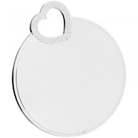 Gravurplatte 925/- Sterling Silber