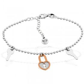 Tiamo Armband 925/- rhodiniert, rosévergoldet